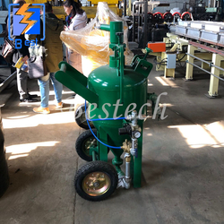 Car Paint Stripping Dustless Sand Blaster from QINGDAO BESTECH MACHINERY CO.,LTD