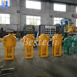 Dustless Glass Beads Sandblasting Equipment from QINGDAO BESTECH MACHINERY CO.,LTD