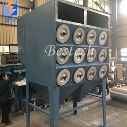 Cartridge Dust Collector for Steel pipe Shot Blasting Machine from QINGDAO BESTECH MACHINERY CO.,LTD