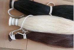 natural color horse hair