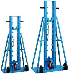 Hydraulic cable drum lifting jack supplier in uae