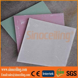 paper gypsum board, gypsum plasterboard,drywall gypsum board for ceiling and wall