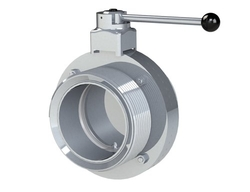 Stainless Steel TC End Butterfly Valve from PETROMET FLANGE INC.