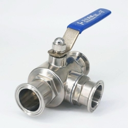 Stainless Steel TC End Ball Valve from PETROMET FLANGE INC.