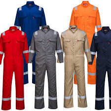 100% Twill Coverall with and without tape
