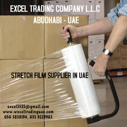 STRETCH FILM SUPPLIER IN ABUDHBAI from EXCEL TRADING COMPANY L L C