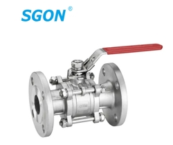 3PC Ball Valve With Flange End