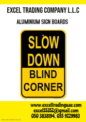 ALUMINIUM SIGNBOARDS SUPPLIERS IN UAE  from EXCEL TRADING COMPANY L L C
