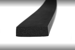 5x40 mm Sponge Closed Cell Rubber Profile