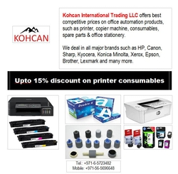 Toner / Ink Cartridge / Copier Spare Parts