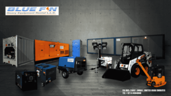 hire of equipment from BLUE FIN HEAVY EQUIPMENT RENTAL LLC
