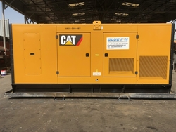 hire of generators from BLUE FIN HEAVY EQUIPMENT RENTAL LLC