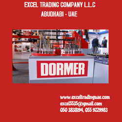 DORMER BRAND TOOLS SUPPLIERS IN UAE   from EXCEL TRADING COMPANY L L C