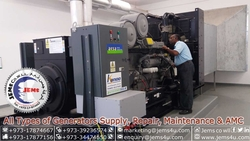 Generator Supply, Repairs & Parts Backup in Bahrain from JEMS SOLUTIONS COMPANY W.L.L