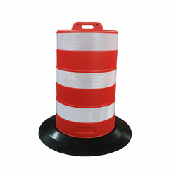 110cm Reflective Traffic Safety Channelizer Drums Road Safety Barrier
