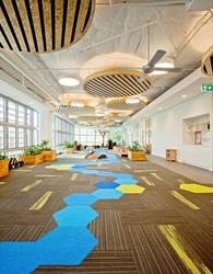 Arts Club Carpet Tile Manufacturer In Ras Al Khaima, UAE from ZAYAANCO