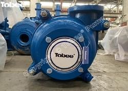 Tobee 4/3C-AH Slurry Pump interchangeable with Warman 4x3 pump