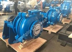 Tobee 4x3 D-AH Warman Slurry Pumps with metal lined