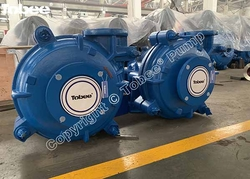 Tobee heavy duty centrifugal slurry pump 6x4 D-AH