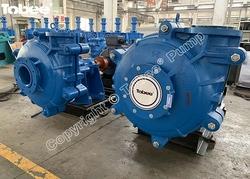 Tobee 8x6 E-AH Warman Gypsum Slurry Pump