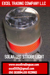 SOLAR LED STROBE LIGHTS