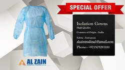 ISOLATION GOWNS from AL ZAIN GENERAL TRADING LLC