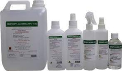 ISOPROPYL ALCOHOL AND SANITIZERS