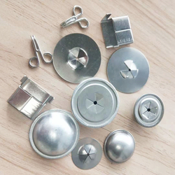 Stainless steel dome cover lock washer