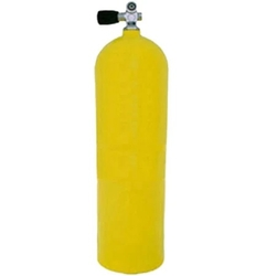 XS SCUBA CUBIC FOOT ALUMINIUM CYLINDER TANK 100FEET YELLOW from GULF SAFETY EQUIPS TRADING LLC