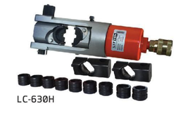 HYDRAULIC CRIMPER HEAD WITH HEXAGONAL DIES FROM 35MM TO 630MM