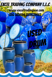USED DRUM SUPPLIER IN UAE  from EXCEL TRADING COMPANY L L C