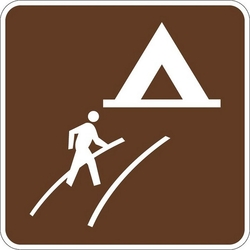 RIG AND CAMP ROUTE SIGN