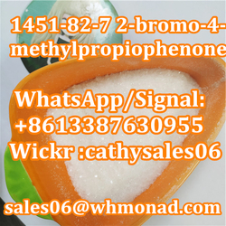 China Manufacturer Good Quality CAS 1451-82-7 White Powder 2-Bromo-4-Methylpropiophenone