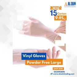 vinyl gloves special offer 10 cartons offer
