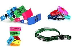 WRISTBANDS from MUSTANG ADVERTISING TRADING LLC