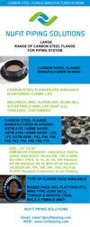 Carbon Steel ASTM A105 Flange