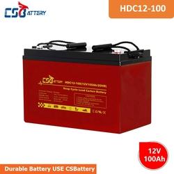 CSBattery 12V 100Ah solar-storage lead carbon  ...