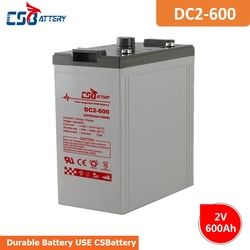 CSBattery 2V 600Ah power storage AGM Battery for Wind/solar/power-generation/electric-energy-storage