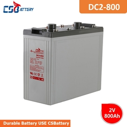 CSBattery 2V 800Ah free Maintenance  AGM Battery for power-tools/Electric-Power/Lighting/Pumps/Wheel-Chair