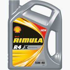 SHELL RIMULA R4X 15W40  HEAVY DUTY DIESEL ENGINE OIL