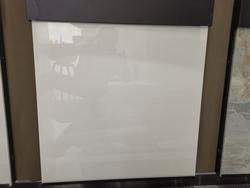 white glossy tiles