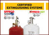 Extinguishing System SFFECO-1230 SFFECO-227