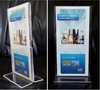 ACRYLIC and MDF BROCHURE STANDS