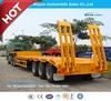 13m 3axles Lowboy Semi Truck Tailer or Lowbed Semitrailer Trailer
