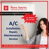 AC Service, AC Repair & Maintenance Residential &C ...
