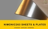 NIMONIC 263 UNS N07263 ALLOYS SHEETS & PLATES