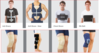 REHABILITATION AIDS AND SUPPORTS -CORSET