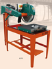 Block cutting, Kerbstone cutting machine
