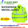 WATERPROOF WINTER SAFETY JACKET WITH REFLECTIVE TAPE DEALER IN MUSSAFAH , ABUDHABI ,UAE