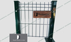 Double wire fence-868-656